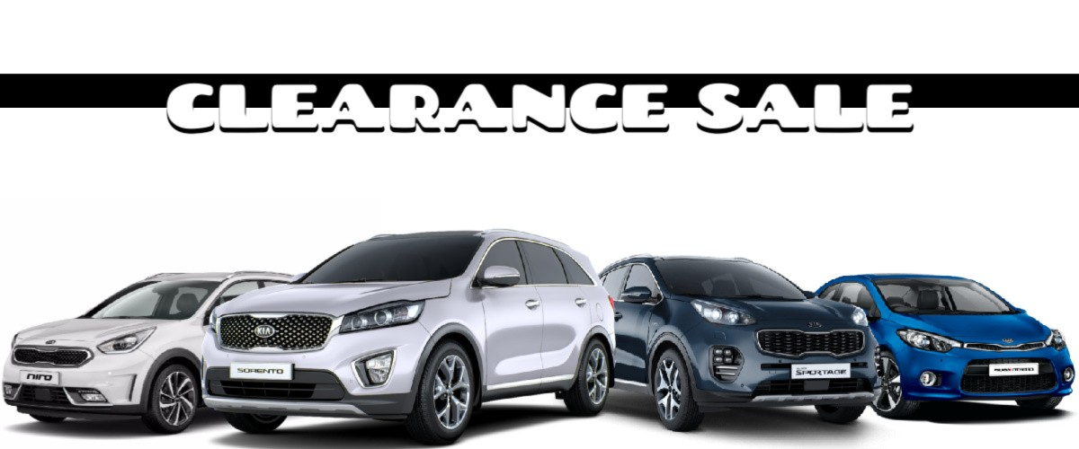 Kia Trinidad Promotion Clearance Sale