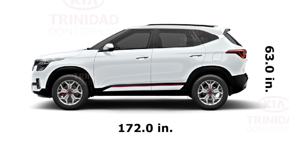 What is the size of new Kia Seltos?
